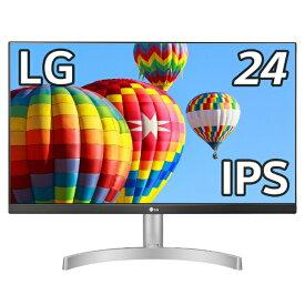 LG 24ML600S-W PCモニター [23.8型 /ワイド /フルHD(1920×1080)][23.8インチ パソコンモニター 液晶ディスプレイ]