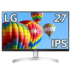 LG 27ML600S-W 27ML600S-W 27型フルHD3辺フレームレスデザイン液晶ディスプレイ(IPS/スピーカー/Dsub/HDMI/Freesync/ブルーライト低減/3年保証) [27型 /ワイド /フルHD(1920×1080)]