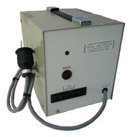 日章工業 NISSYO INDUSTRY NDF-2000UPE アップトランス(昇圧専用変圧器/通電ランプ搭載/コンセント出力2か所/最大2000W) 日章工業 NDF-2000UPE