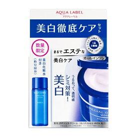 資生堂 shiseido AQUALABEL(アクアレーベル)スペシャルジェルクリームA(ホワイト)セットD 90g (医薬部外品)