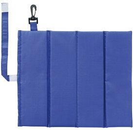 丸眞 Marushin おでかけカラーズ 折りたたみ シートクッション(H27×W31.5×D1cm/ブルー) 165005700