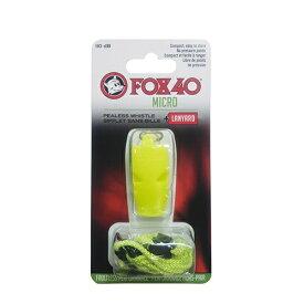 FOX40 マイクロホイッスル(約54×26×12mm/イエロー) 23254