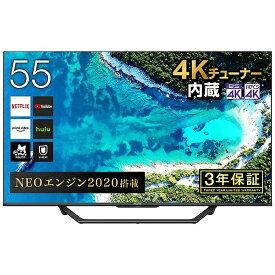 ハイセンス Hisense 液晶テレビ 55U7F [55V型 /4K対応 /BS・CS 4Kチューナー内蔵 /YouTube対応][テレビ 55型 55インチ]