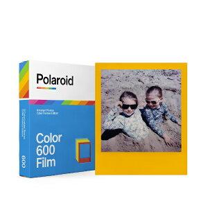 ポラロイド Polaroid Color Film For 600 Color Frames 6015 [8枚 /1パック]