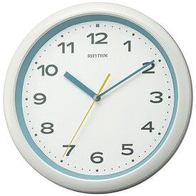リズム時計 RHYTHM 掛け時計 【フィットウェーブプリシラ】 青 8MY562SR04 [電波自動受信機能有]