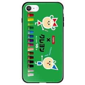 藤家 Fujiya iPhone SE(第2世代)/8/7 サクラクレパス ガラスハイブリッド C. デザインC ghp7046-bk-c-ipse2