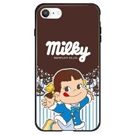 藤家 Fujiya iPhone SE(第2世代)/8/7 不二家 ガラスハイブリッド J. ウィンターペコ ghp7050-bk-j-ipse2