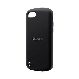 MSソリューションズ iPhone SE(第2世代)4.7インチ 耐衝撃ハイブリッドケース「PALLET」 LP-I9PLMBK ブラック
