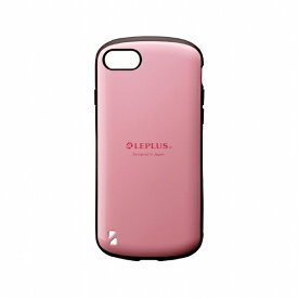 MSソリューションズ iPhone SE(第2世代)4.7インチ 耐衝撃ハイブリッドケース「PALLET」 LP-I9PLPK ピンク
