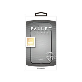 MSソリューションズ iPhone SE(第2世代)4.7インチ ガラスハイブリッド「PALLET GLASS」 LP-I9PLGCSBK グレー
