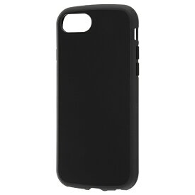 レイアウト rayout iPhone SE(第2世代)4.7インチ/8/7/6s/6 耐衝撃ハイブリッド Puffull RT-P25CC14/B ブラック