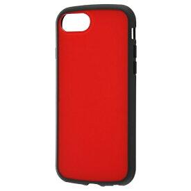 レイアウト rayout iPhone SE(第2世代)4.7インチ/8/7/6s/6 耐衝撃ハイブリッド Puffull RT-P25CC14/R レッド