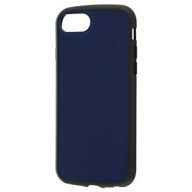 レイアウト rayout iPhone SE(第2世代)4.7インチ/8/7/6s/6 耐衝撃ハイブリッド Puffull RT-P25CC14/DN ネイビー