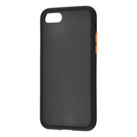 レイアウト rayout iPhone SE(第2世代)4.7インチ/8/7 耐衝撃マットハイブリッド BABY SKIN RT-P24BS1/B ブラック