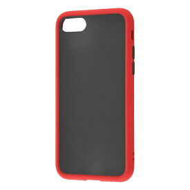 レイアウト rayout iPhone SE(第2世代)4.7インチ/8/7 耐衝撃マットハイブリッド BABY SKIN RT-P24BS1/R レッド
