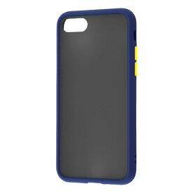レイアウト rayout iPhone SE(第2世代)4.7インチ/8/7 耐衝撃マットハイブリッド BABY SKIN RT-P24BS1/DN ネイビー