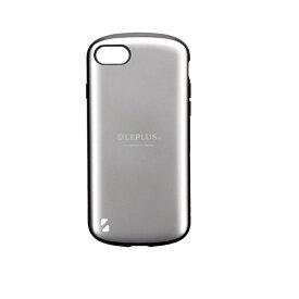 MSソリューションズ iPhone SE(第2世代)4.7インチ 耐衝撃ハイブリッドケース「PALLET」 LP-I9PLMSV シルバー