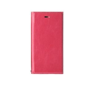 MSソリューションズ iPhone SE(第2世代)4.7インチ 薄型PUレザーフラップケース「PRIME」 LP-I9PRIPK2 ピンク