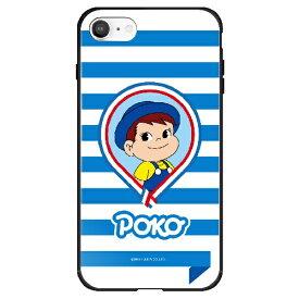藤家 Fujiya iPhone SE(第2世代)/8/7 不二家 ガラスハイブリッド F. ポコちゃん ghp7165-bk-f-ipse2