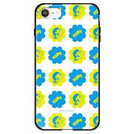 藤家 Fujiya iPhone SE(第2世代)/8/7 不二家 ガラスハイブリッド K. パターン ghp7165-bk-k-ipse2