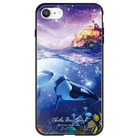 藤家 Fujiya iPhone SE(第2世代)/8/7 ラッセン ガラスハイブリッド B. PATANO STAR ghp7252-bk-b-ipse2