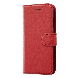 レイアウト rayout iPhone SE(第2世代)4.7インチ/8/7 手帳 シンプル マグネット RT-P24ELC1/R レッド