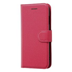 レイアウト rayout iPhone SE(第2世代)4.7インチ/8/7 手帳 シンプル マグネット RT-P24ELC1/P ピンク