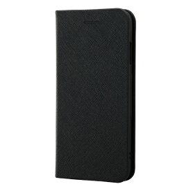 レイアウト rayout iPhone SE(第2世代)4.7インチ/8/7 手帳 マグネットタイプ RT-P24SLC3/JB ブラック