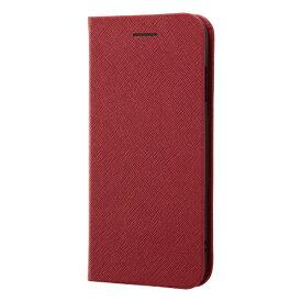 レイアウト rayout iPhone SE(第2世代)4.7インチ/8/7 手帳 マグネットタイプ RT-P24SLC3/JR レッド
