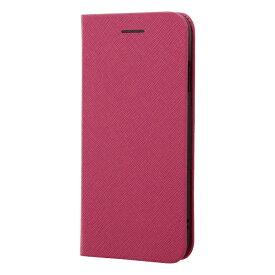 レイアウト rayout iPhone SE(第2世代)4.7インチ/8/7 手帳 マグネットタイプ RT-P24SLC3/JP ピンク