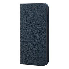 レイアウト rayout iPhone SE(第2世代)4.7インチ/8/7 手帳 マグネットタイプ RT-P24SLC3/JN ネイビー