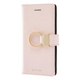 レイアウト rayout iPhone SE(第2世代)4.7インチ/8/7 手帳 TETRA リング付き RT-P24TBC5/P ピンク