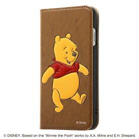 レイアウト rayout iPhone SE(第2世代)4.7インチ/8/7 ディズニー/手帳 ポップアップ RT-DP24J/PO プー