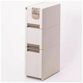 サンコー SANKO オーラスリム すき間収納3段 ベージュ 42007