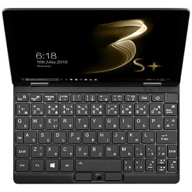 One-Netbook Technology ワンネットブックテクノロジー ONEMIX3SPJP-B2 ノートパソコン OneMix3 S+(コンバーチブル型) ブラック [8.4型 /intel Core i3 /SSD:256GB /メモリ:8GB /2020年5月モデル]