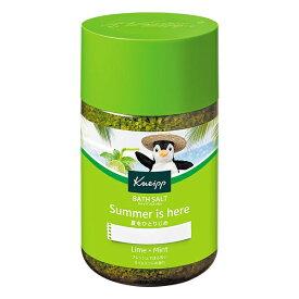 クナイプジャパン Kneipp Japan クナイプ バスソルト ライムミントの香り 850g