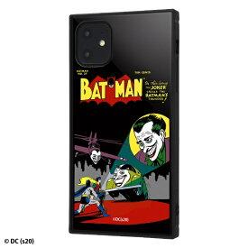 イングレム Ingrem iPhone 11 /バットマン/耐衝撃ハイブリッドケース KAKU/COMIC COMIC IQ-WP21K3TB/BM008
