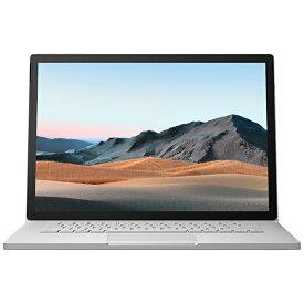 マイクロソフト Microsoft Surface Book3[15型/SSD 256GB/メモリ 16GB/Intel core i7/プラチナ/2020年]SLZ-00018ノートパソコン[15インチ office付き 新品 windows10]