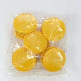 マグエックス MagX カラーボタン30黄10P