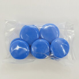 マグエックス MagX カラーボタン20青10P