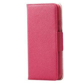 エレコム ELECOM iPhone SE(第2世代)4.7インチ対応 ソフトレザーケース 女子向 磁石付 ディープピンク PM-A19APLFJM1PD
