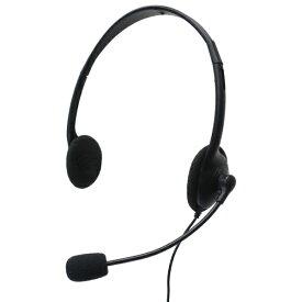 タイムリー TIMELY ヘッドセット ブラック GR-HS01-4CBK [φ3.5mmミニプラグ /両耳 /ヘッドバンドタイプ]