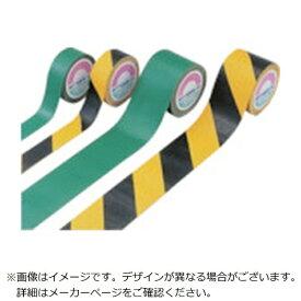日本緑十字 JAPAN GREEN CROSS 緑十字 屋外用ラインテープ 緑 50mm幅×5m 合成ゴム 105051