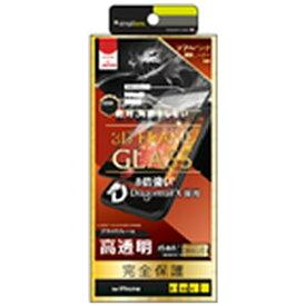 ソフトバンク SoftBank iPhone SE(第2世代)4.7インチ/8/7/6s/6 3DFRAME GLASS BK(クリア) ZUA1CV