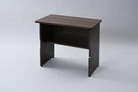 ヤマゼン YAMAZEN 折りたたみテーブル(W800xD460mm) ウォルナット MOT-8045