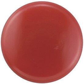 日本緑十字 JAPAN GREEN CROSS 緑十字 カラーマグネット(ボタン型タイプ) 赤 40mmΦ 10個組 312092
