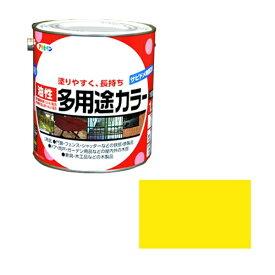 アサヒペン アサヒペン 油性多用途カラー 1.6L 黄色