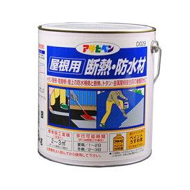 アサヒペン アサヒペン 屋根用断熱・防水 3kg D029 銀