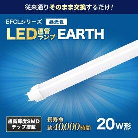 エコデバイス ECO DEVICE エコデバイス 20形LED直管 昼色 アース EDLTL20LED-28N EDLTL20LED-28N