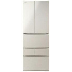 東芝 TOSHIBA GR-S550FH-EC 冷蔵庫 サテンゴールド [6ドア /観音開きタイプ /551L][冷蔵庫 大型 新品]《基本設置料金セット》